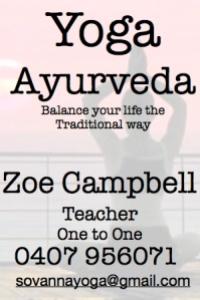 Zoe yoga business card 1 JPG