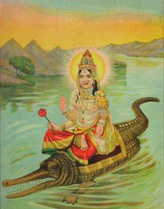 The Goddess of Always Being Broken: Akhilandeshvari