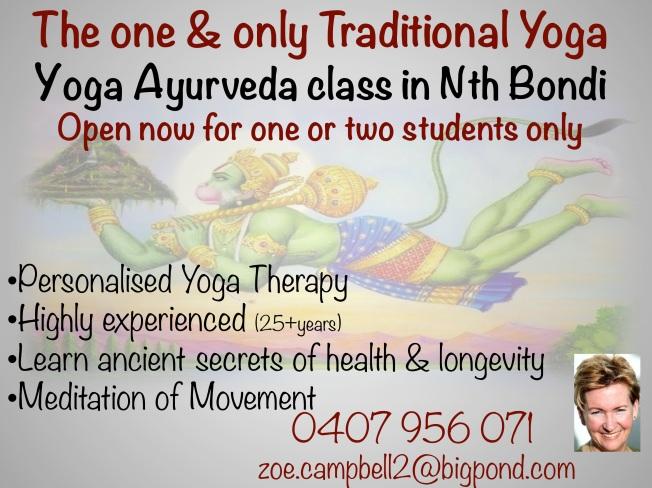 Yoga Ayurveda Class Bondi