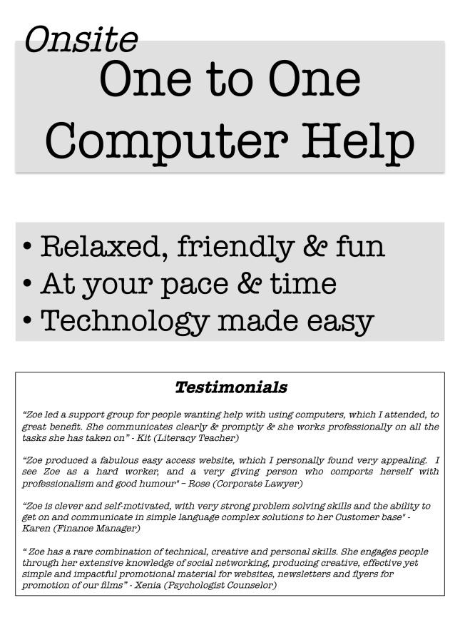 Computer flyer 2