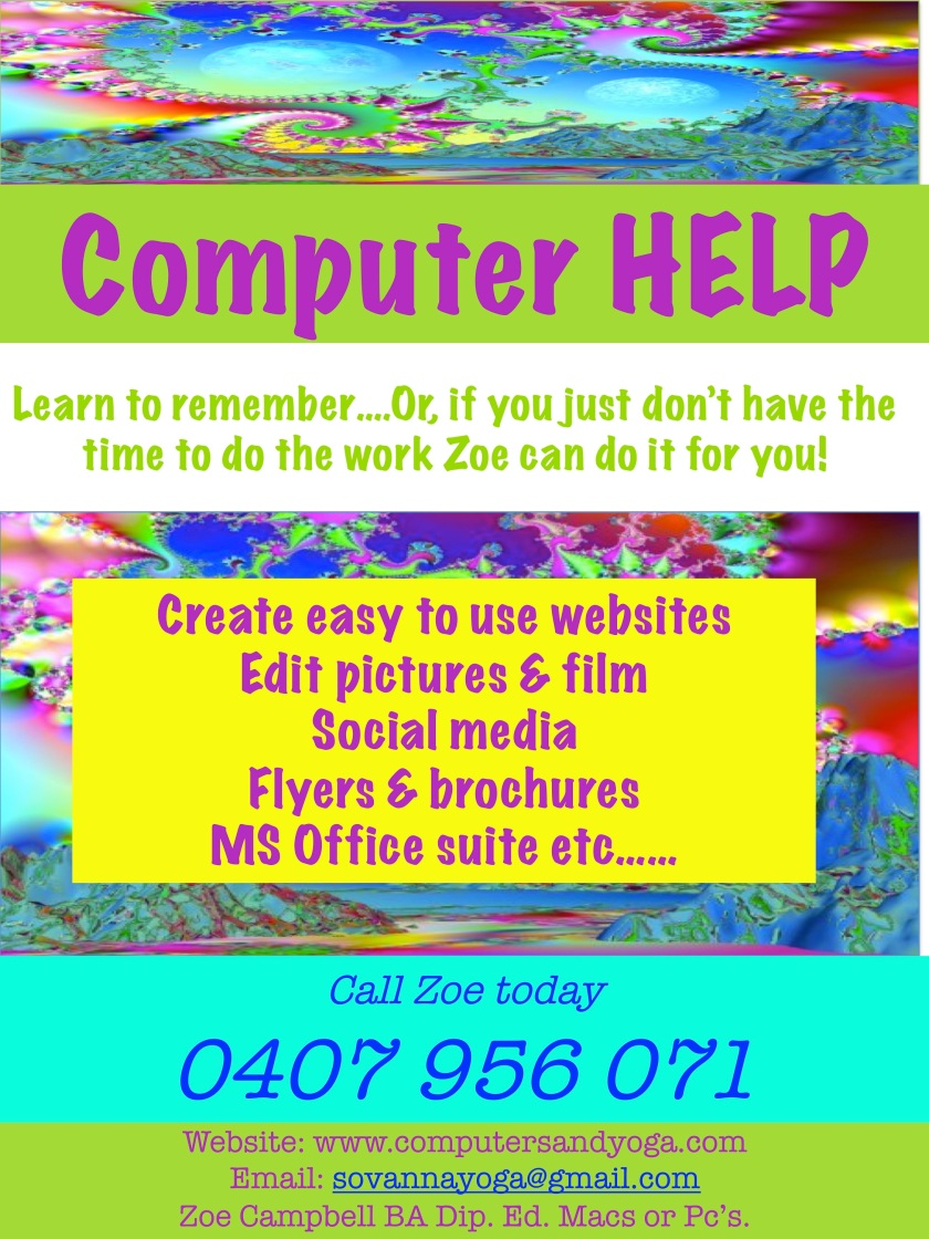 Websites flyer